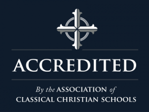 accredited blue Association of Classical Christian Schools (ACCS)