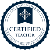 ACCS Teacher Certification seal Association of Classical Christian Schools (ACCS)