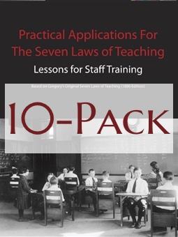Seven Laws of Teaching Workbook 10-Pack Image