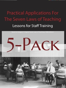 Seven Laws of Teaching Workbook 5-Pack Image
