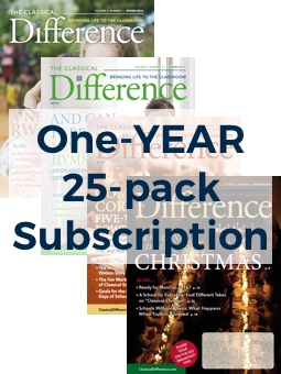 The Classical Difference 1-Year, 25-Pack Subscription Image