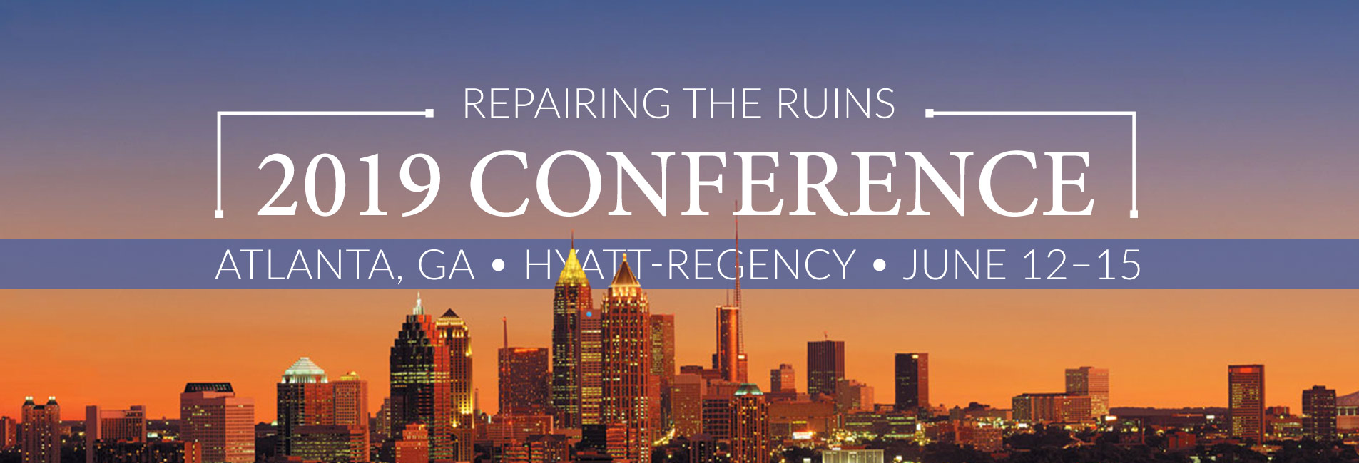 Repairing the Ruins conference 2019 ACCS Atlanta classical Christian education